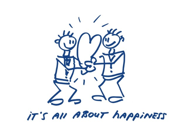 It's all about happiness Happy business hoekHRM business coach
